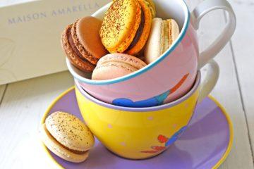 Macarons de la maison Amarella
